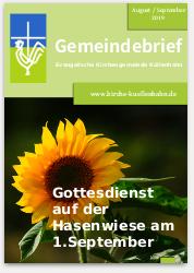 Cover Gemeindebrief 08-09-2019